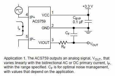 ACS759应用图解